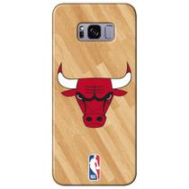 Capa para Celular NBA - Samsung Galaxy S8 Plus G955 - Chicago Bulls - B05