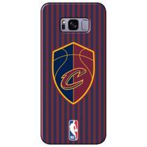 Capa para Celular NBA - Samsung Galaxy S8 Plus G955 - Clevelad Cavaliers - E06 -