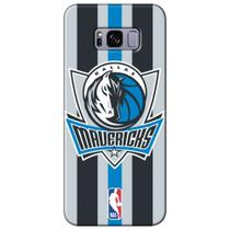 Capa para Celular NBA - Samsung Galaxy S8 Plus G955 - Dallas Mavericks - E10