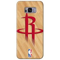 Capa para Celular NBA - Samsung Galaxy S8 Plus G955 - Houston Rockets - B13