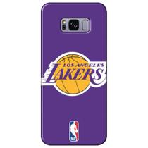 Capa para Celular NBA - Samsung Galaxy S8 Plus G955 - Los Angeles Lakers - A16