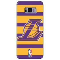 Capa para Celular NBA - Samsung Galaxy S8 Plus G955 - Los Angeles Lakers - E02