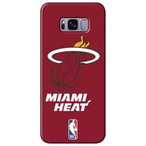 Capa para Celular NBA - Samsung Galaxy S8 Plus G955 - Miami Heat - A19