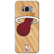 Capa para Celular NBA - Samsung Galaxy S8 Plus G955 - Miami Heat - B18