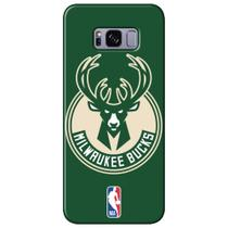 Capa para Celular NBA - Samsung Galaxy S8 Plus G955 - Milwaukee Bucks - A20