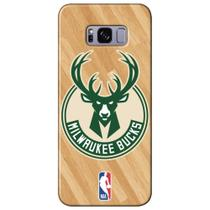 Capa para Celular NBA - Samsung Galaxy S8 Plus G955 - Milwaukee Bucks - B19