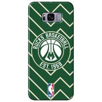 Capa para Celular NBA - Samsung Galaxy S8 Plus G955 - Milwaukee Bucks - E14