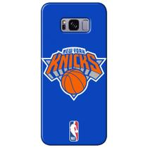 Capa para Celular NBA - Samsung Galaxy S8 Plus G955 - New York Knicks - A23