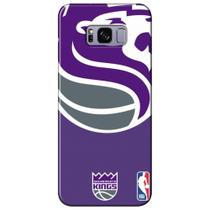 Capa para Celular NBA - Samsung Galaxy S8 Plus G955 - Sacramento Kings - D28