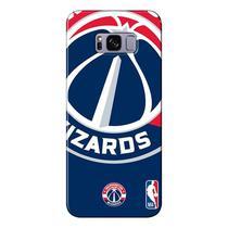 Capa para Celular NBA - Samsung Galaxy S8 Plus G955 - Washington Wizards - D14 -