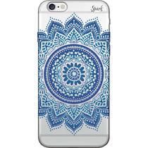 Capa para Celular Samsung Galaxy J7 Neo - Spark Cases - Mandala Azul -