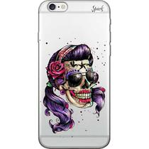 Capa para Celular Samsung J5 - Spark Cases - Caveira Pin Up