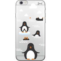 Capa para Celular Samsung J7 Neo - Spark Cases - Pinguins -