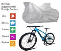 Capa Para Cobrir Bicicleta Bike Todas Forrada E Impermeável - Zna Bezzter