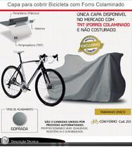 Capa Para Cobrir Bicicleta Infantil Juvenil e Adulto Com Forro Gofrada - CARRHEL