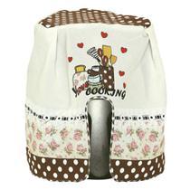 Capa para Fritadeira Elétrica 3,5L Estampada Amo Cozinhar 100% Oxford - Outfiter