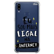 Capa para galaxy a10s (0468) sou mais legal na internet - Quarkcase