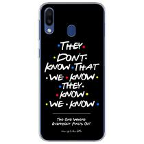 Capa para Galaxy A20S - Friends  They Dont Know That We Know - Mycase