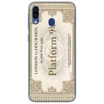 Capa para Galaxy A20S - Harry Potter  Ticket Plataforma 9 e 34 - Mycase
