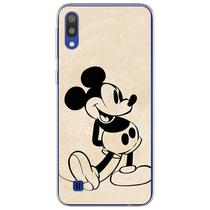 Capa para Galaxy A30S - Mickey  Preto - Mycase