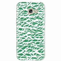 Capa para Galaxy A5 2017 Green Abstract - Quero case