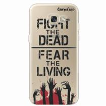 Capa para Galaxy A5 2017 Walking Dead - Fight The Dead - Quero case