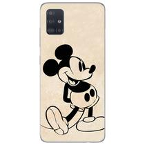 Capa para Galaxy A51 - Mickey  Preto - Mycase