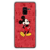 Capa para Galaxy A8 2018 - História em Quadrinhos  Mickey - Mycase