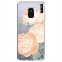 Capa para Galaxy A8 2018 VX Case Ambridge Rose -