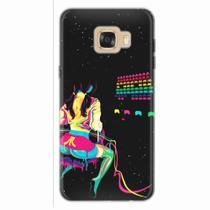 Capa para Galaxy C7 Atari Space Invaders - Quero case