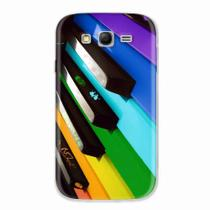 Capa para Galaxy Grand Duos Piano Art 02 - Quero case
