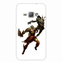 Capa para Galaxy J1 2016 God of War Kratos 04 - Quero case
