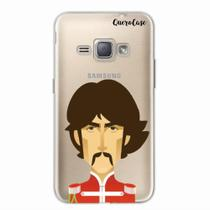 Capa para Galaxy J1 2016 The Beatles George Harrison - Quero case