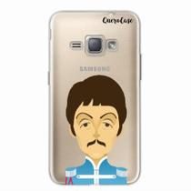 Capa para Galaxy J1 2016 The Beatles Paul McCartney - Quero case