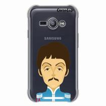 Capa para Galaxy J1 Ace The Beatles Paul McCartney - Quero case