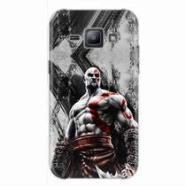 Capa para Galaxy J1 God of War Kratos 02 - Quero case
