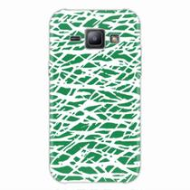 Capa para Galaxy J1 Green Abstract - Quero case