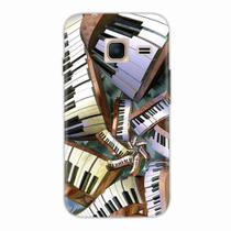 Capa para Galaxy J1 Mini Piano Art 01 - Quero case