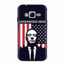 Capa para Galaxy J1 Mini Prime House Of Cards Underwood 2016 - Quero case