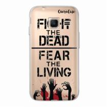 Capa para Galaxy J1 Mini Walking Dead - Fight The Dead - Quero case