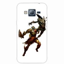 Capa para Galaxy j3 God of War Kratos 04 - Quero case