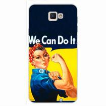 Capa para Galaxy J5 Prime We Can Do It! 02 - Quero case