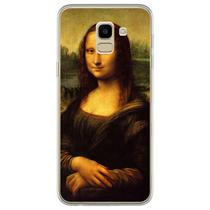 Capa para Galaxy J6 - Arte  Leonardo da Vinci - Mona Lisa - Mycase