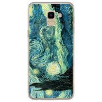 Capa para Galaxy J6 - Arte  Van Gogh - A Noite Estrelada - Mycase