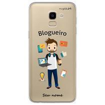 Capa para Galaxy J6 - Blogueiro - Mycase