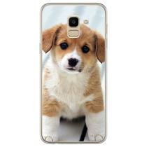 Capa para Galaxy J6 - Cachorrinho - Mycase