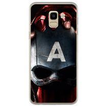 Capa para Galaxy J6 - Capitão América Guerra Civil 2 - Mycase