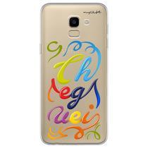 Capa para Galaxy J6 - Cheguei - Mycase