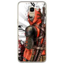 Capa para Galaxy J6 - Deadpool 3 - Mycase