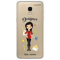 Capa para Galaxy J6 - Designer  Mulher - Mycase
